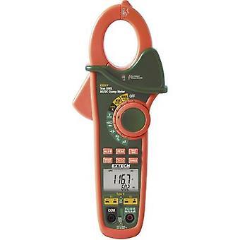 Extech EX613 Clamp meter, Handheld multimeter Digital CAT III 600 V Display (counts): 40000