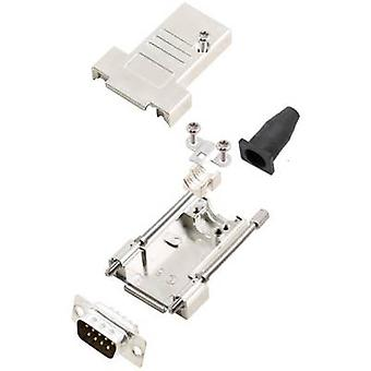 encitech DTSL09-T-JSRG+DBP-K D-SUB pin strip set 180 ° Number of pins: 9 Solder bucket 1 Set