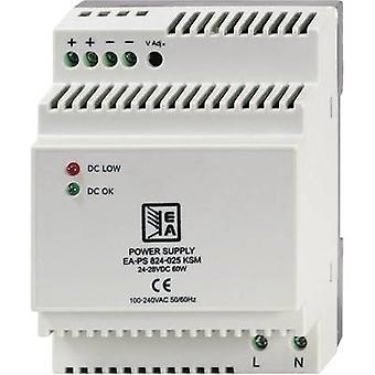 EA Elektro Automatik EA-PS 824-025 KSM Rail mounted PSU (DIN) 2.5 A 60 W 1 x