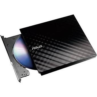Asus SDRW-08D2S External DVD writer Retail USB 2.0 Black