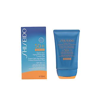 Shiseido Expert Sun Aging Protection Cream Plus Wet Force 50ml Solar Unisex New