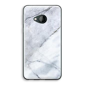 HTC U Play Transparent Case - Marble white