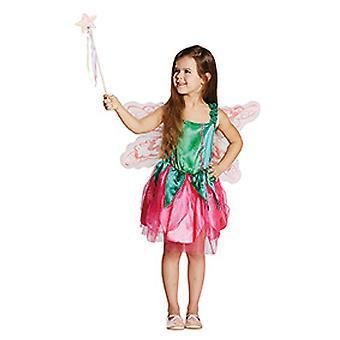 Fee kostuum van de kinderen met vleugels voor meisjes fairy sprookjes