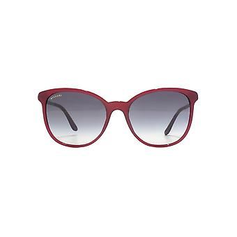 Bvlgari Cateye Sunglasses In Burgundy