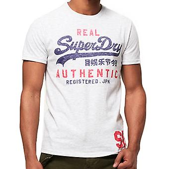 Superdry Mens Vintage Authentic Duo TShirt