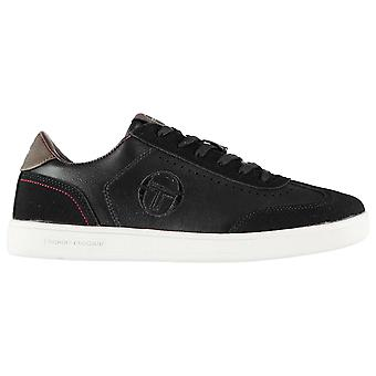 Sergio Tacchini Mens Brighton Trainers Low Lace Up Padded Ankle Collar Casual