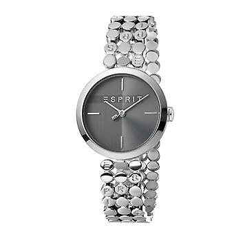 ESPRIT Ladies Watch Watches FREE Bracelet Bliss Black Silver Quartz