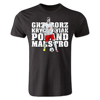 Grzegorz Krychowiak Polen Spieler T-Shirt (schwarz)