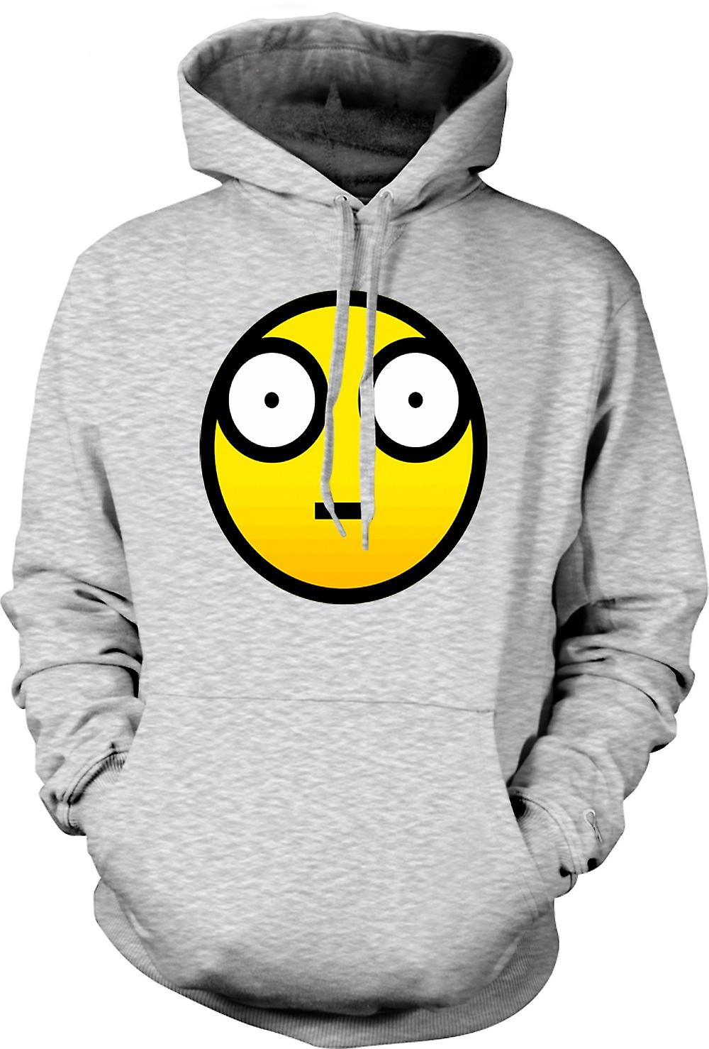 Mens Hoodie - Smiley Face - Cool Design