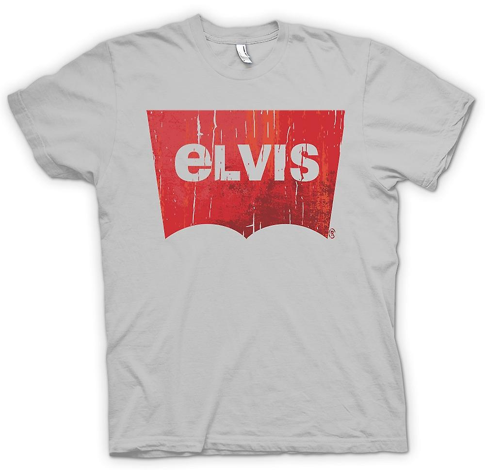 Mens T-shirt - Elvis - Levis Inspired