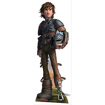 Hiccup and Toothless from How To Train Your Dragon 2 Cardboard Cutout / Standee / Standup Double Pack
