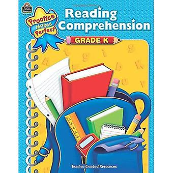 Reading Comprehension, Grade K (Practice Makes Perfect (Teacher Created Materials))