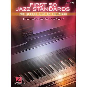 Första 50 Jazz Standards du bör spela på Piano