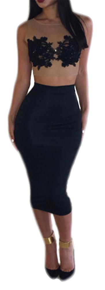 Waooh - Set top and high waist skirt Shol