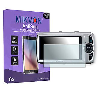 Canon IXY 30S Screen Protector - Mikvon AntiSun (Retail Package with accessories)