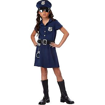Miss Police Officer Child Costume