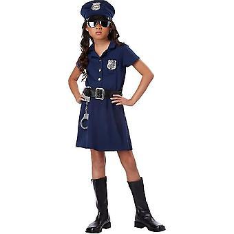 Miss-Polizist Kinderkostüm