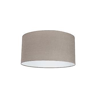 QAZQA Cylinder Shade 50/50/25 Antique Grey