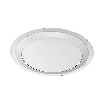 Eglo - Competa 1 LED branco redondo EG95677 luz de teto