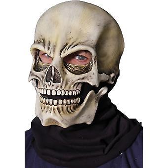 ハロウィーンの靴下スカル クラシック ラテックス マスク