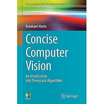 Kortfattet Computer Vision: En introduktion til teori og algoritmer (Undergraduate emner i datalogi)