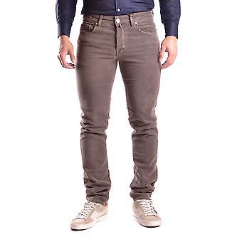 Pt05 Brown Wool Jeans