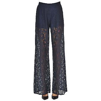 Pinko Blue Cotton Pants
