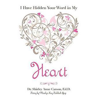 J'ai caché ta parole dans mon coeur par Carson & Ed D. Dr Shirley Anne