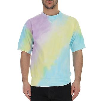 Laneus Multicolor Cotton T-shirt