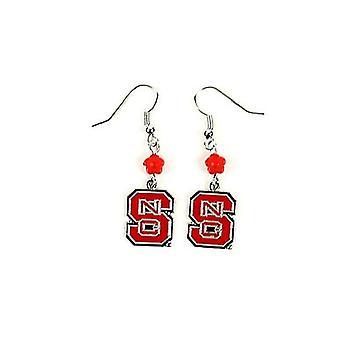 NC State Wolfpack NCAA Sophie Style Dangle Earrings