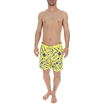Champion Yellow Nylon Trunks