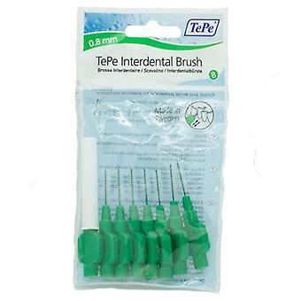 Tepe Interdental Brush 0.8 Green 8