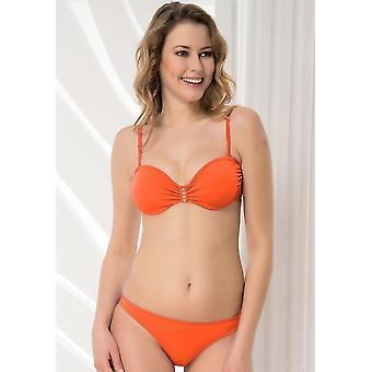 Аква Perla - женские-Фиджи-оранжевый - двух частей бикини