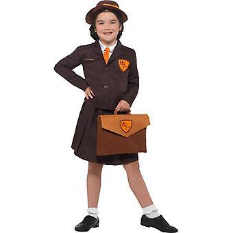 Malory Towers kids costume school uniform dress Carnival
