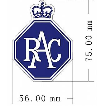 Pair (2) of RAC Badge vinyl peel off decals / stickers    (ff)
