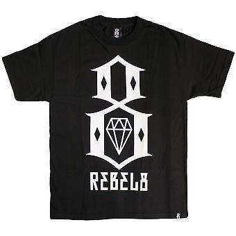 Rebel8 Logo T-shirt Black