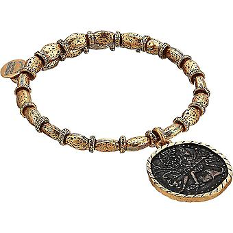 Alex And Ani Saraswati Wrap - Two Tone - RG Bracelet - V18WS01TTRG