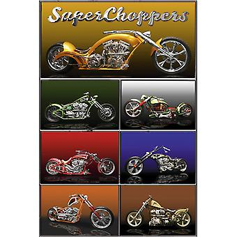 Poster - Studio B - 24x36 The American Chopper Wall Art CJ1494