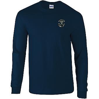 Somerset leichte Infanterie - lizenzierte britische Armee bestickt langärmelige T-Shirt