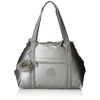 Kipling ART M Beach bag 58 cm 26 liters Grey (Metallic Stony)