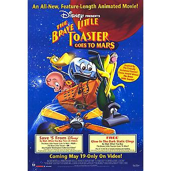 The Brave Little Toaster Goes To Mars (Video) Original Video/Dvd Ad Poster