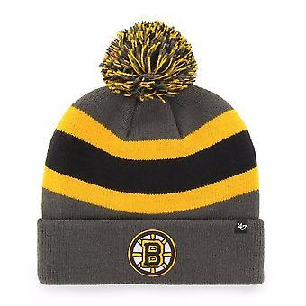 '47 Nhl Boston Bruins Charcoal Breakaway Cuff Knit