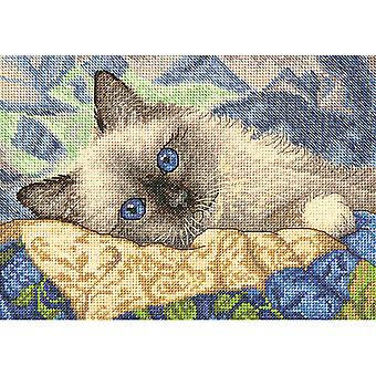 Gold Petite Charming Counted Cross Stitch Kit-7