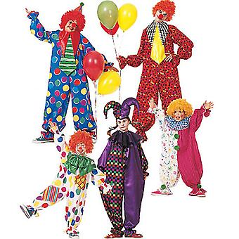 Children's Boys' Girls' Misses' Men's Teen Boys' Clown Costu  Sml Pattern M6142  Sml