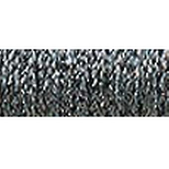 Kreinik Medium metallische Braid #16, die 10 Meter 11 Yards Hallo Lustre Stahl grau M 010 Hl
