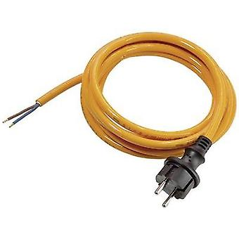 Current Cable [ PG plug - Cable, open-ended] Orange 3 m as - Schwabe 70911