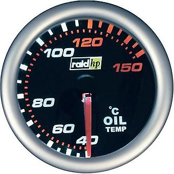 raid hp 660242 Oil Temperature Gauge 40 to 150°C 12V