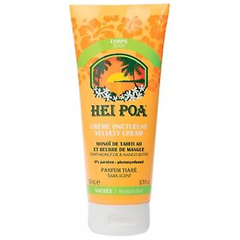 Hei Poa Moisturizing Velvety Cream Pearlescent 200 ml
