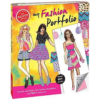 My Fashion Portfolio Book Kit- K590649