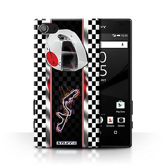 STUFF4 Case/Cover for Sony Xperia Z5 Compact/4.6/Japan/Suzuka/F1 Track Flag
